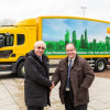 DHL launches gas-powered quiet truck at Quiet Cities
