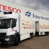 Tesco puts its first refrigerated drawbar into operation