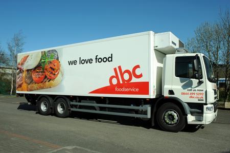 DBC Foodservice truck