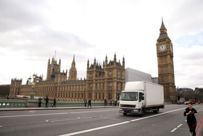 Westminster Bridge will be affected by the London Olympics