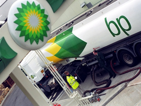BP tanker