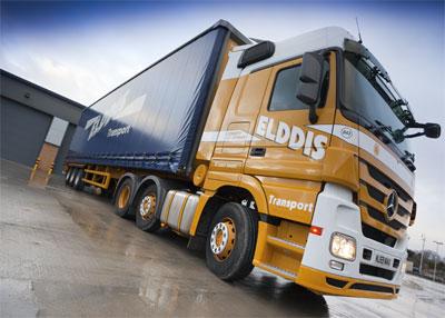 Elddis Transport truck