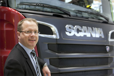 Martin Lundstedt, chief executive, Scania