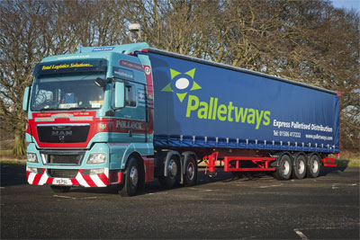 Palletways truck
