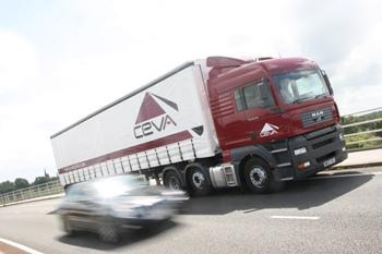 CEVA MAN truck