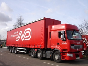 Norbert Dentressangle truck