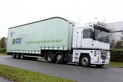 Fortec truck at Magna Park