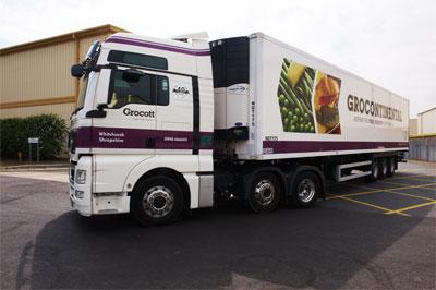 Grocontinental truck