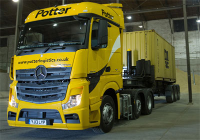 Potter Logistics at Selby distribution centre
