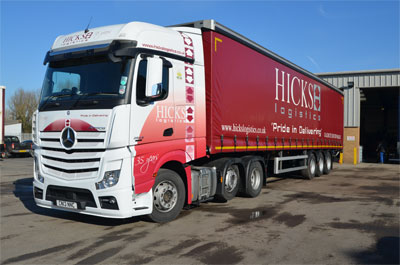 Hicks Logistics has joined Fortec