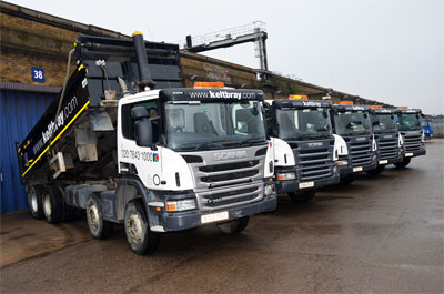 Keltbray has added Scania tippers to its fleet