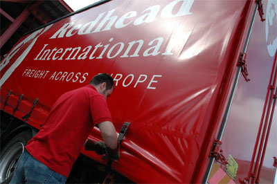 Redhead International truck