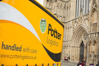 Potter Logistics has bought two Fuso Canter Hybrids.