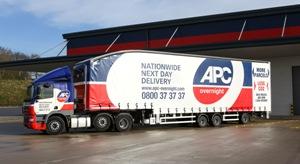 APC Overnight longer semi-trailers