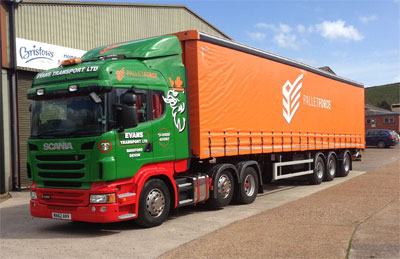 Evans Transport in fleet renewal