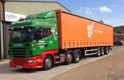 Evans Transport in fleet renewal
