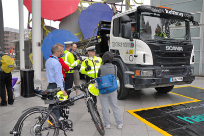Keltbray has welcomed the 10,000th cyclist into one of its truck's cabs