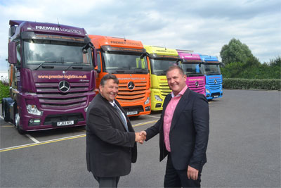 New Actros units for Premier Logistics from Mertrux