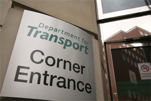Department for Transport: all change, please