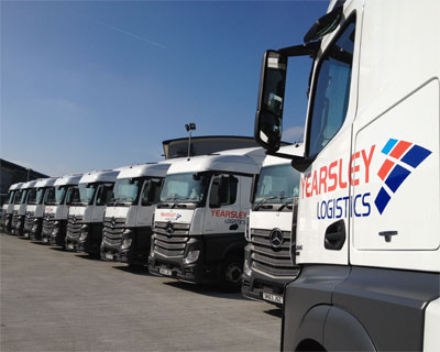 Yearsley Group's new Actros units