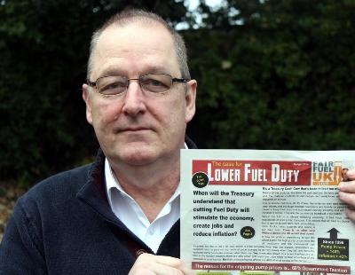 """FairFuelUK (FFUK) co-founder Howard Cox has said he is """"absolutely disgusted"""" with the Labour Party's apparent disinterest in the issue of fuel prices, ... - Howard-Cox-FairFuelUK-Smaller"""