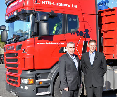 RTH Lubbers MD, Tony Tailford (Left) and RTH Lubbers company director Stuart Ferguson (Right)