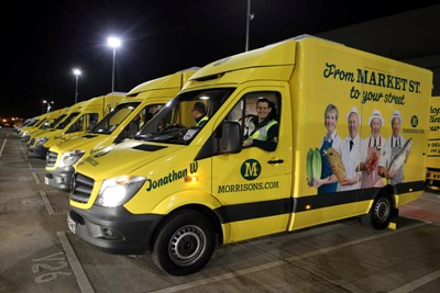 Morrisons Playing It Tough With Ocado Over Home Delivery Motor Transport