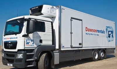 Dawson truck rental