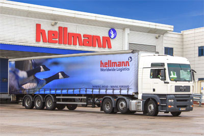 Hellmann is the new European partner for Pallet-Track