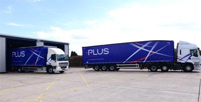 Plus Logistics revealed at last week's launch event in Birmingham