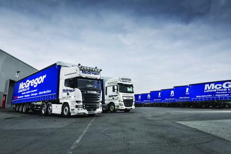 Mcgregor logistics premiers new schmitz cargobull trailers for Motor cargo freight company