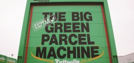 All things green: Tuffnells Parcel Express