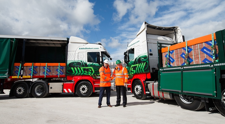 Aggregate Industries and Eddie Stobart