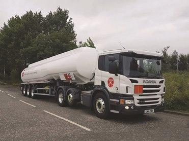 Suckling Transport tanker