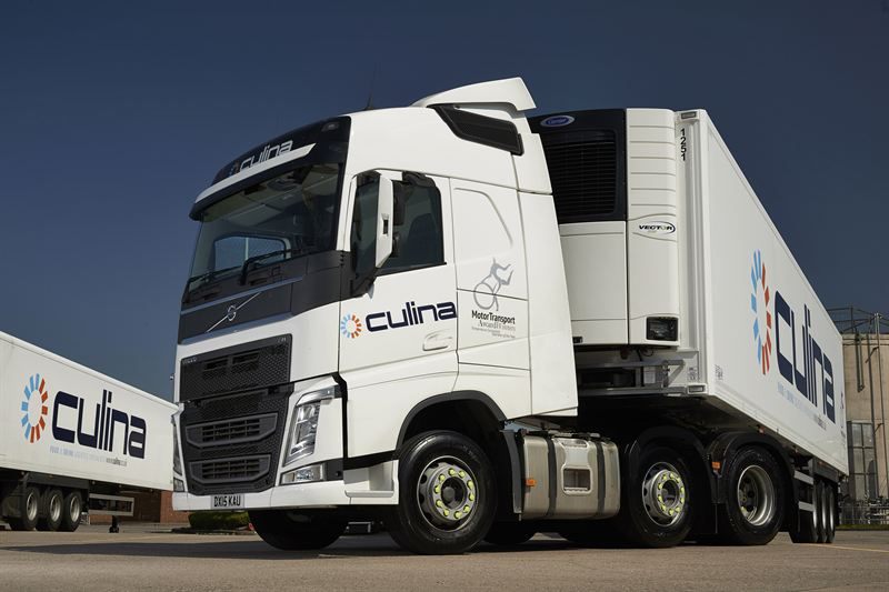 Culina vehicle with Carrier Transicold fridge