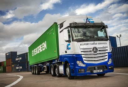 Maritime transport orders thirty five more mercedes benz for Motor cargo freight company