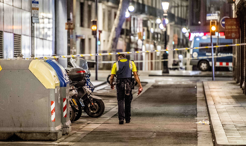 Barcelona terror attack. Image: PA News