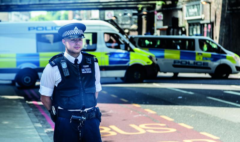 UK Police in London