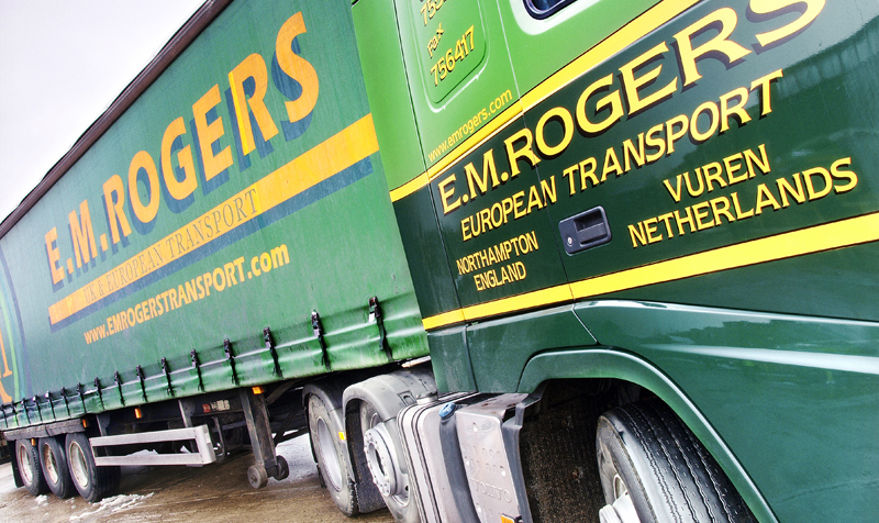 EM Rogers vehicle