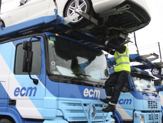 ECM MB Actros car transporter