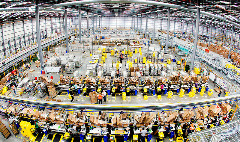 Amazon Hemel Hempstead fufilment