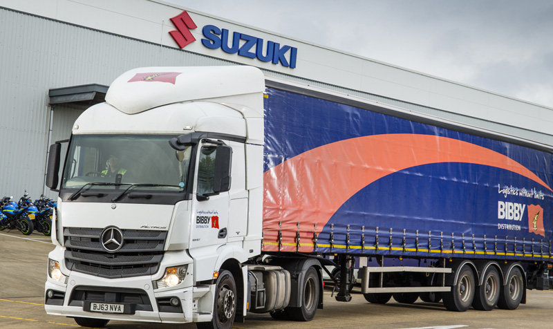 Bibby Distribution and Suzuki