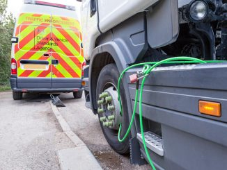 DVSA immobilised vehicle