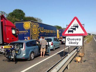 Dover port delays