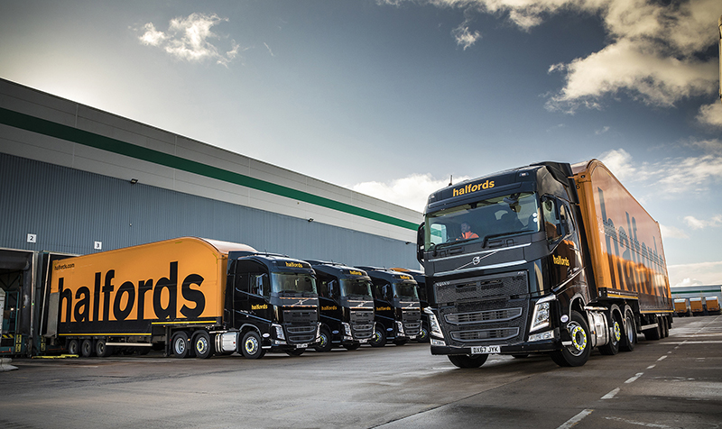 Halfords Group renews long-haul fleet with 50 new Volvo FH units | Motor Transport