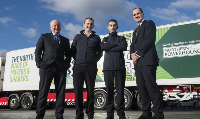 Eddie Stobart Northern Powerhouse partner