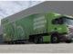 Asda Scania with Cartwright double deck trailer