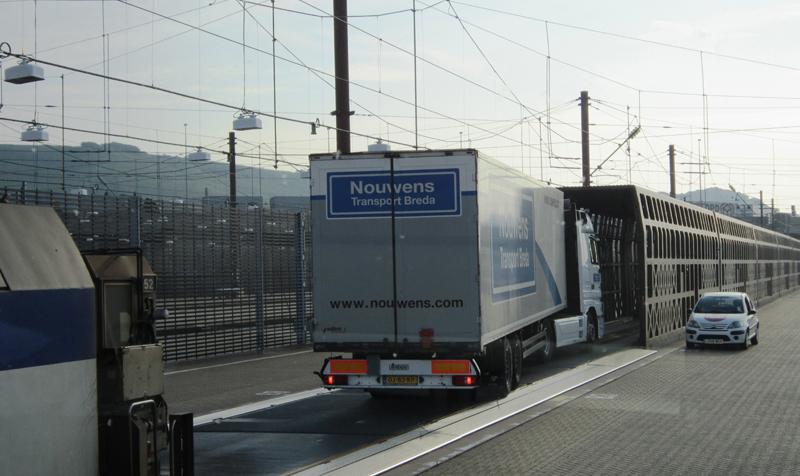 Eurotunnel freight