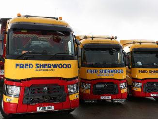 Fred Sherwood trucks
