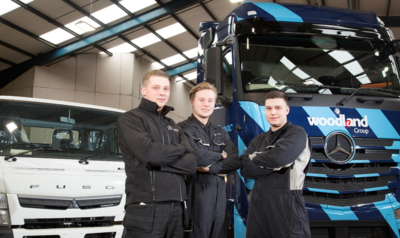 apprentices graduate from mercedes benz apprenticeship